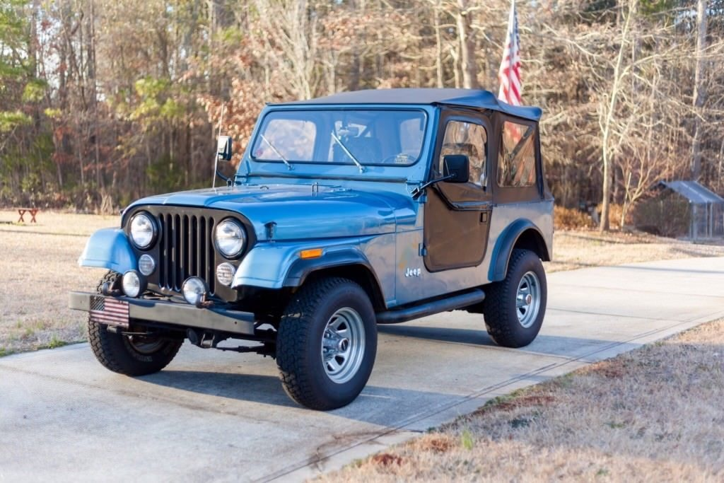 1986 Jeep CJ Base
