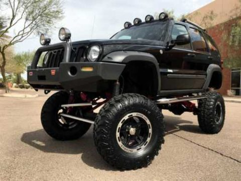 2005 Jeep Liberty Renegade 4X4 $50k Custom! ONLY 6k MILES! for sale