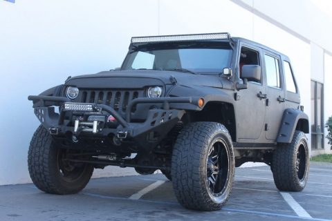 2012 Jeep Wrangler Unlimited Custom SHOW JEEP! for sale