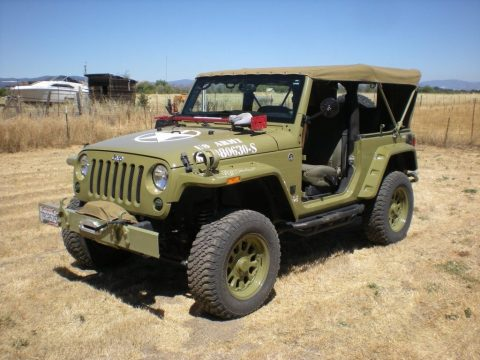 2013 Jeep Wrangler Rubicon Armytribute for sale