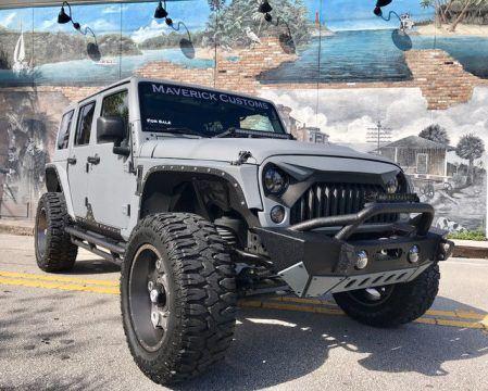 2013 Jeep Wrangler Unlimited Sport Utility 4 Door for sale