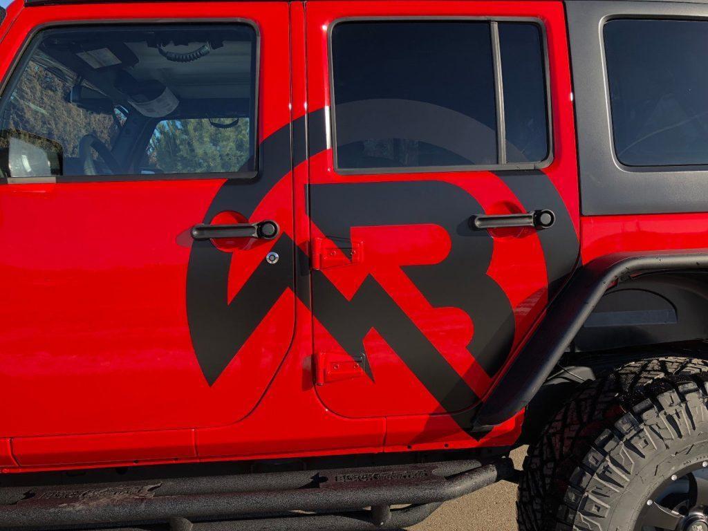 2017 Jeep Wrangler Black Mountain