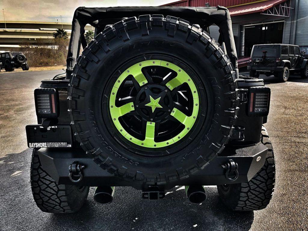 2017 Jeep Wrangler Custom Lifted Leather HARDTOP