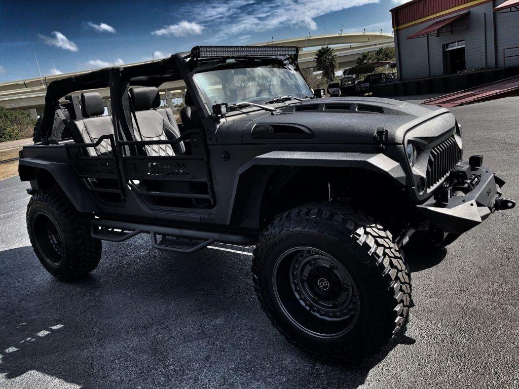 2017 Jeep Wrangler Rhino Rubicon Leather Hardtop Heated SEATS