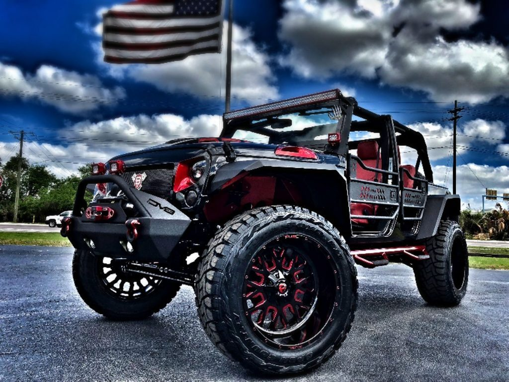 Lifted Jeeps For Sale >> 2018 Jeep Wrangler Rubicon Custom Lifted Leather For Sale