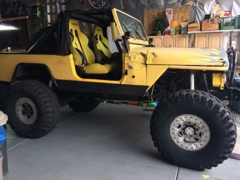 Jeep CJ8 Scrambler for sale