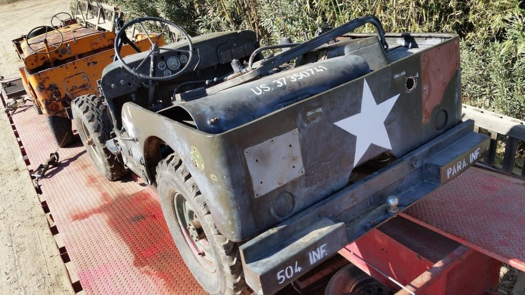 1942 Willys MB U.S. Army Truck, 1/4 ton, 4×4 for sale