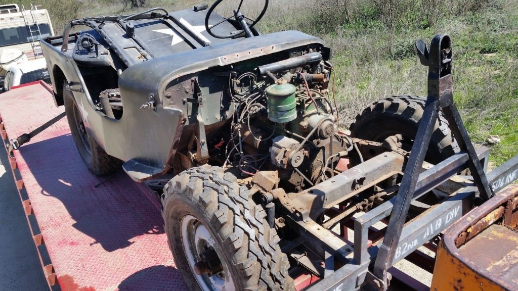 1942 Willys MB U.S. Army Truck, 1/4 ton, 4×4