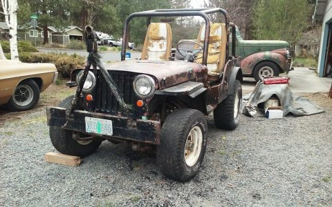 1948 Willys Jeep for sale