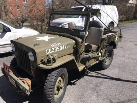 1953 jeep Willy's CJ-3B nice condition 4×4 for sale