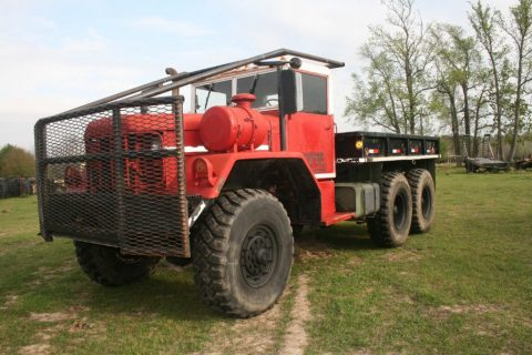 1970 Kaiser Jeep M818 5TON Military 6X6 Cargo Truck for sale