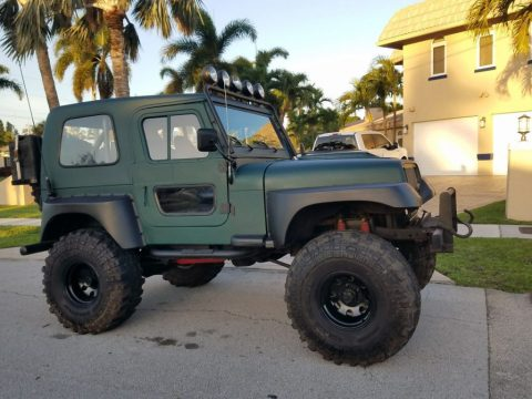 1980 Jeep CJ Lifted V8 350 Motor for sale