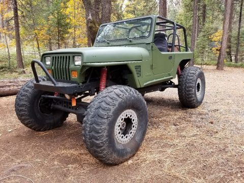 1995 Jeep Wrangler YJ Rock Crawler project for sale