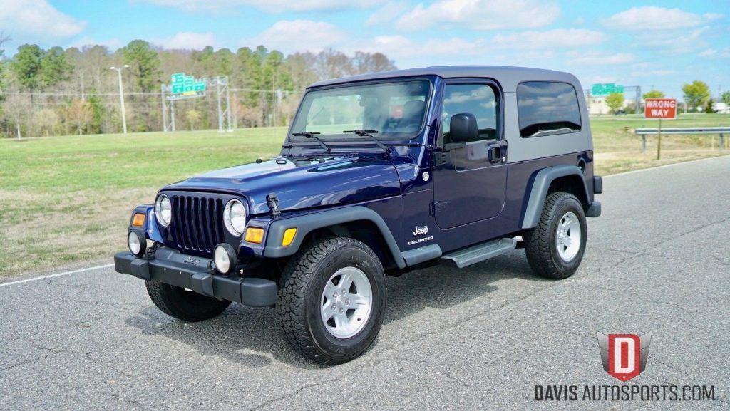 2006 Jeep Wrangler Unlimited LJ 2 Door for sale