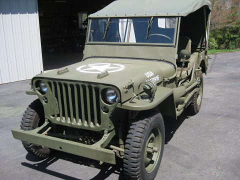 1943 Willys MB WWII Military for sale