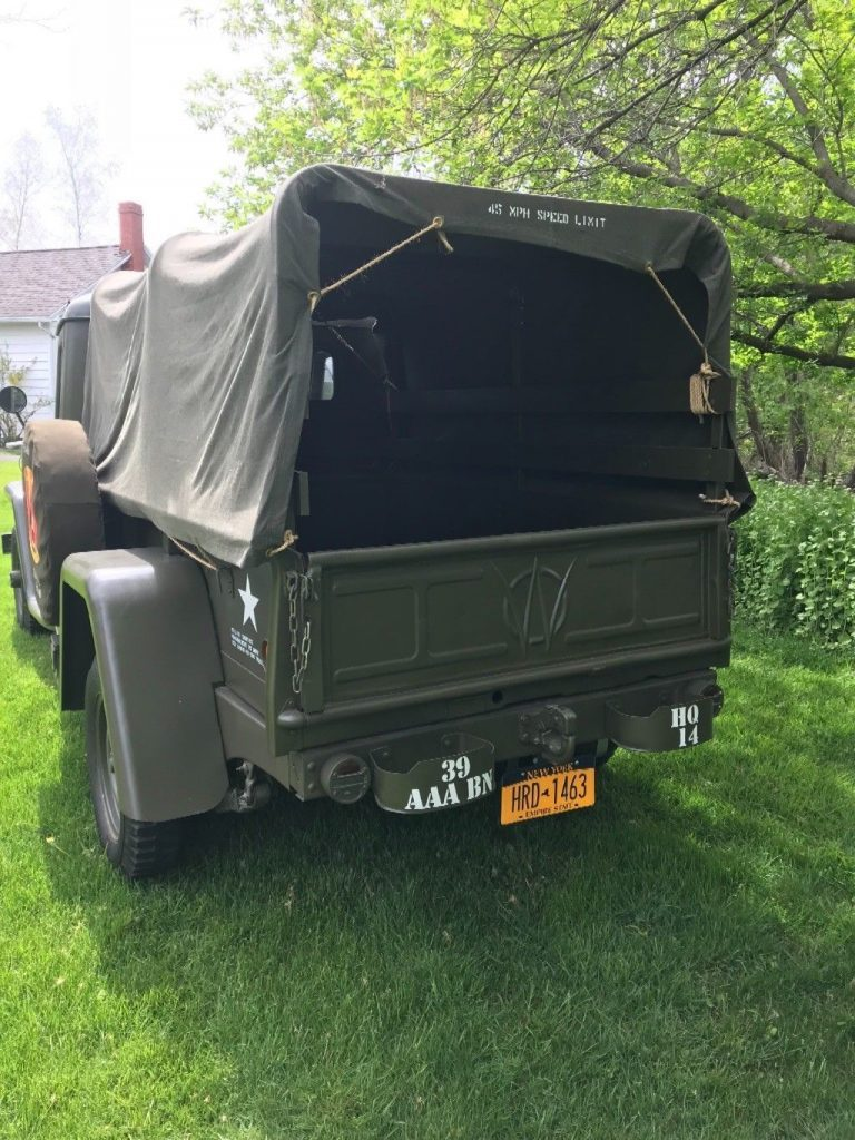 1948 Jeep Willys Truck Military