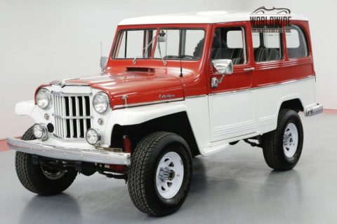 1961 Jeep Willys Wagon Restored RARE Wagon 4X4 for sale
