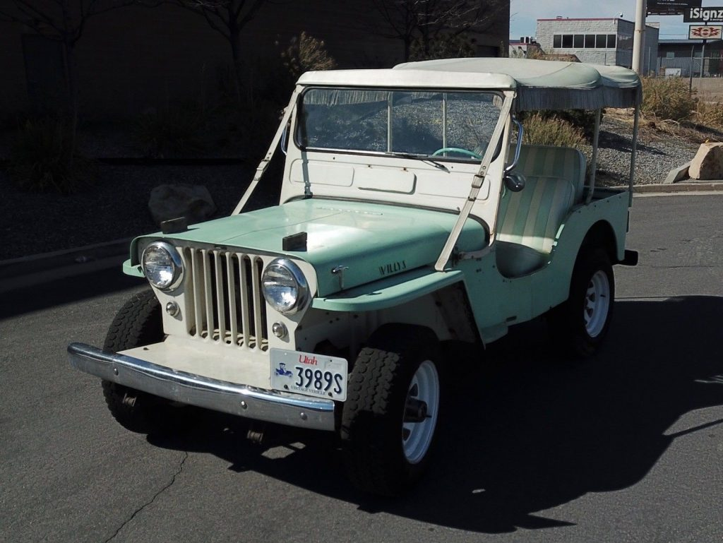 1962 Jeep Willys  DJ-3A for sale