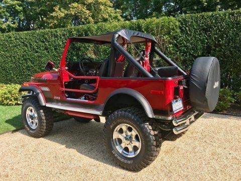 1980 Jeep CJ  340 V8 for sale