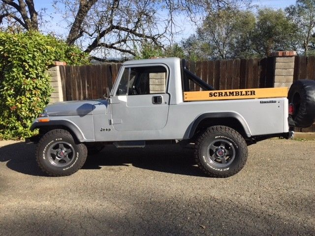 1982 Jeep CJ Scrambler
