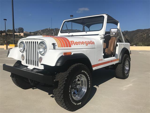 1986 Jeep CJ7 RENEGADE for sale