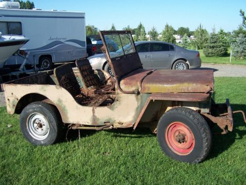 1946 Jeep Willys CJ2A for sale