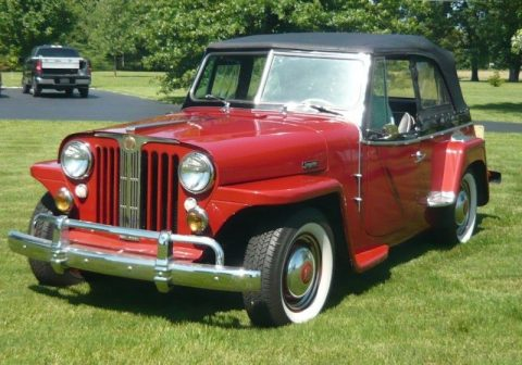 1948 Jeep Willys 439 Jeepster for sale