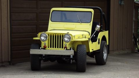 1951 Jeep Willys CJ 3A for sale