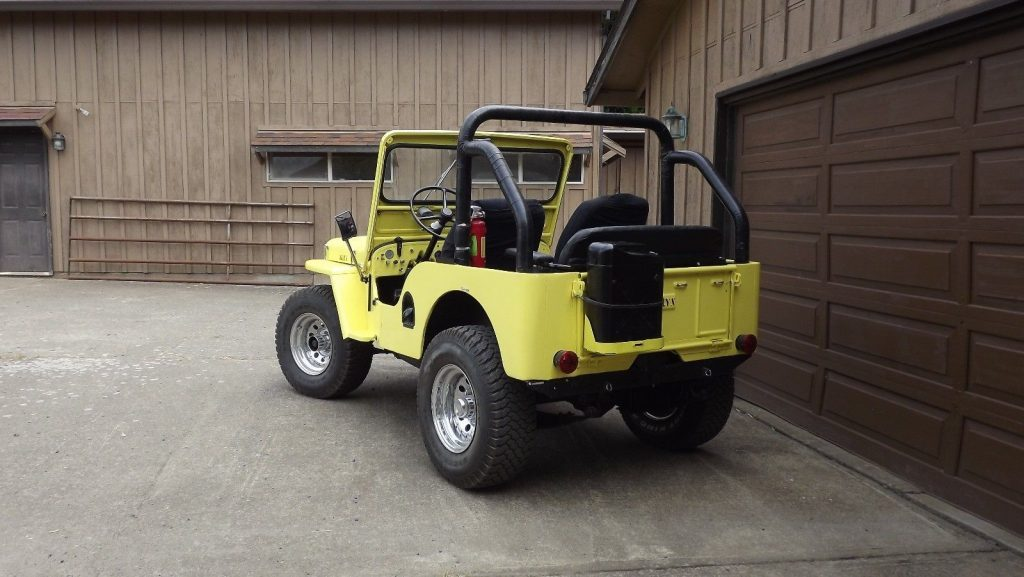 1951 Jeep Willys CJ 3A