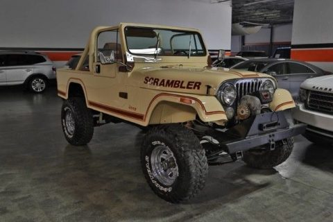 1981 Jeep CJ 5.7 Liter V8 OHV (chevrolet LS2) Engine for sale