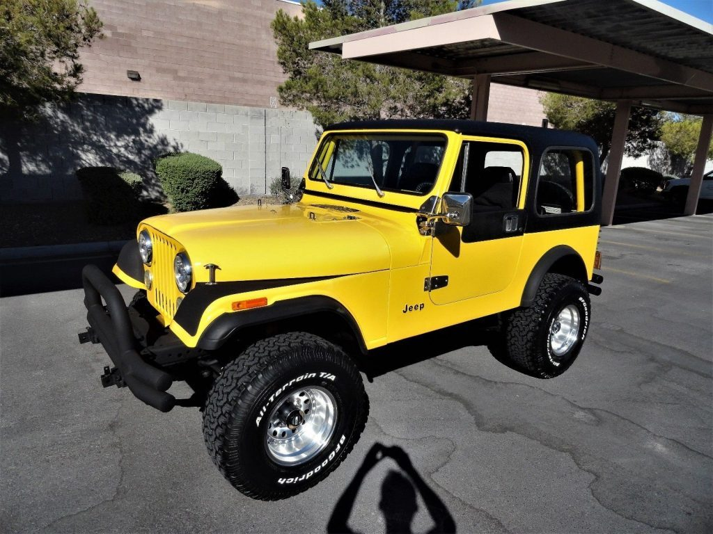 1986 Jeep CJ Classic JEEP CJ7 Restored FUEL INJECTED for sale