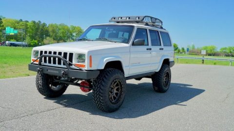 1999 Jeep Cherokee NEW Lift, Steering, Wheels, Tires, & MORE for sale