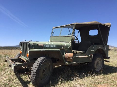 1944 Jeep Willys MB Diesel for sale