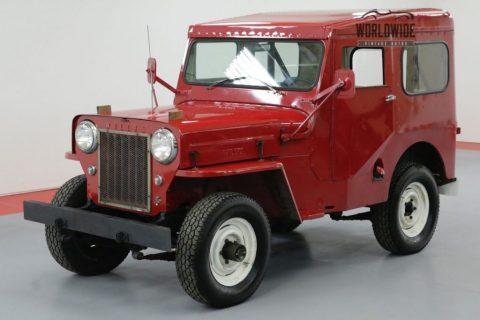 1961 Willys CJ3B 4 CYL Manual 4X4 for sale