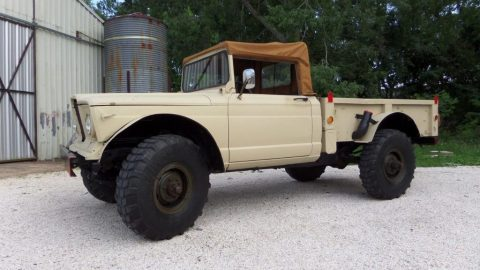 1967 Jeep Kaiser  EX Military 2 door soft top for sale