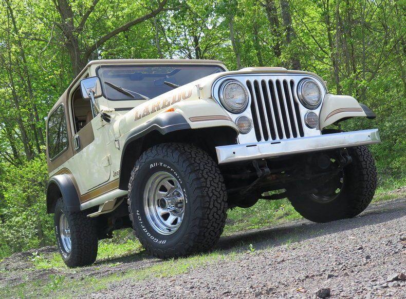 1986 Jeep CJ7 Laredo for sale
