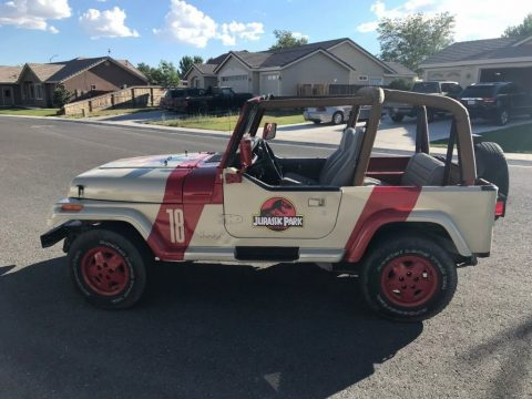 1994 Jeep Wrangler Jurassic Park for sale