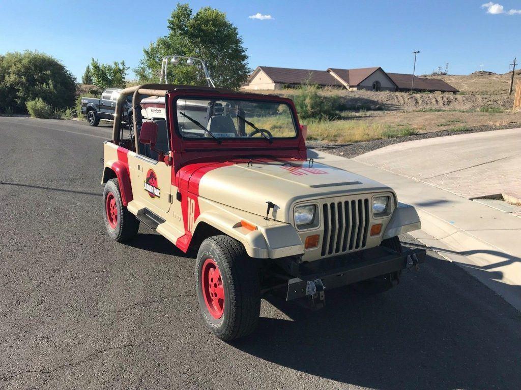 1994 Jeep Wrangler Jurassic Park