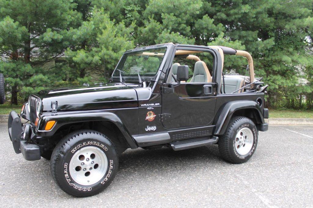1997 Jeep Wrangler Sahara for sale