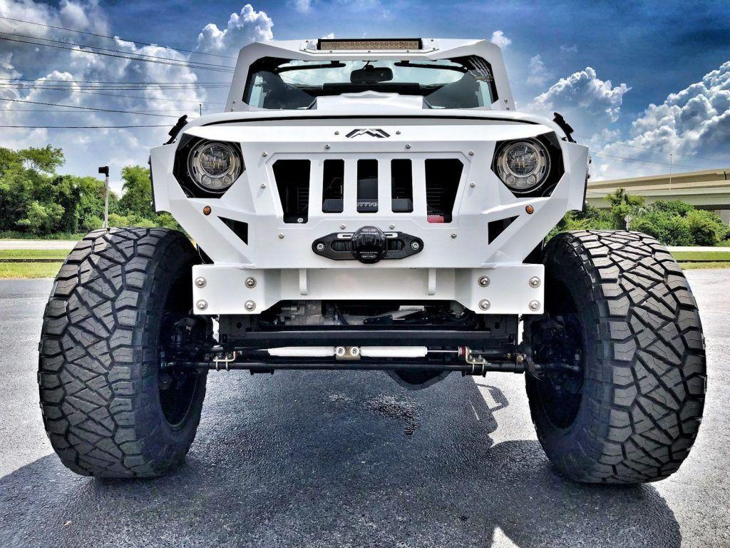 2018 Jeep Wrangler Rubicon Armor White OUT Leather NAV HARDTOP