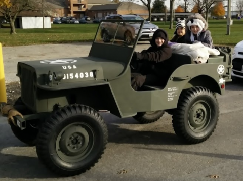 Willys Jeep Replica for sale