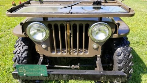 1952 Jeep Willys CJ3A for sale