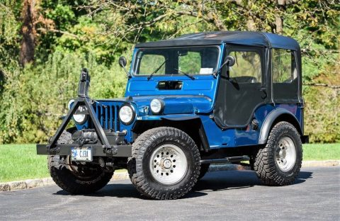 1960 Jeep Willys CJ3A for sale