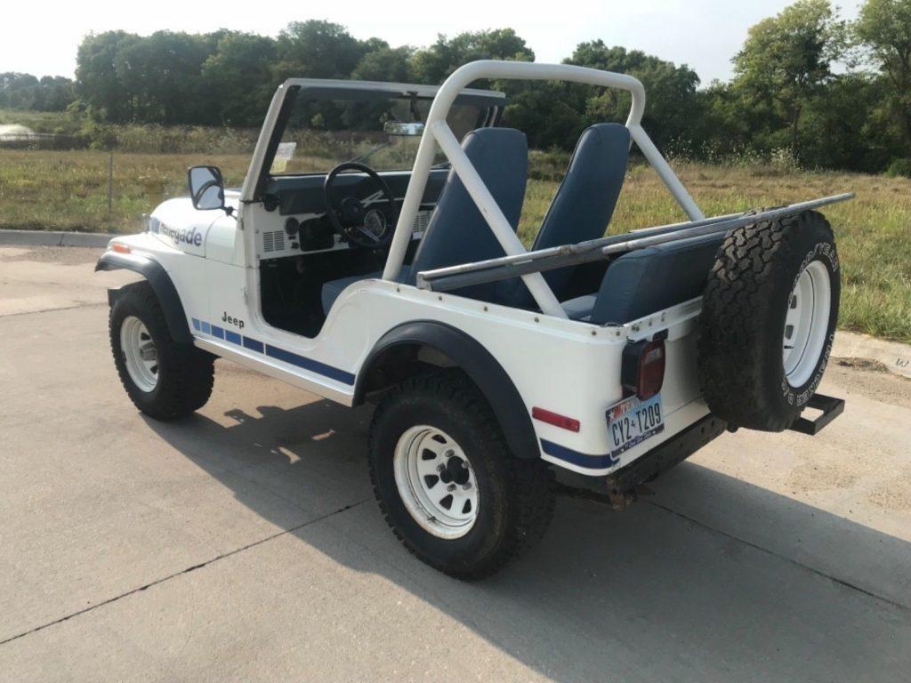 1980 Jeep Wrangler Renegade