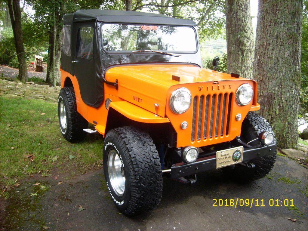 1962 Jeep Willys CJ3B for sale