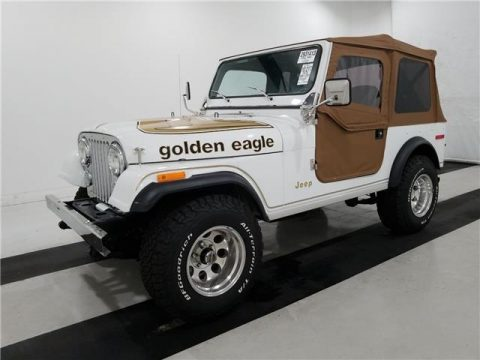 1978 Jeep Wrangler Golden Eagle  FREE SHIPPING! for sale
