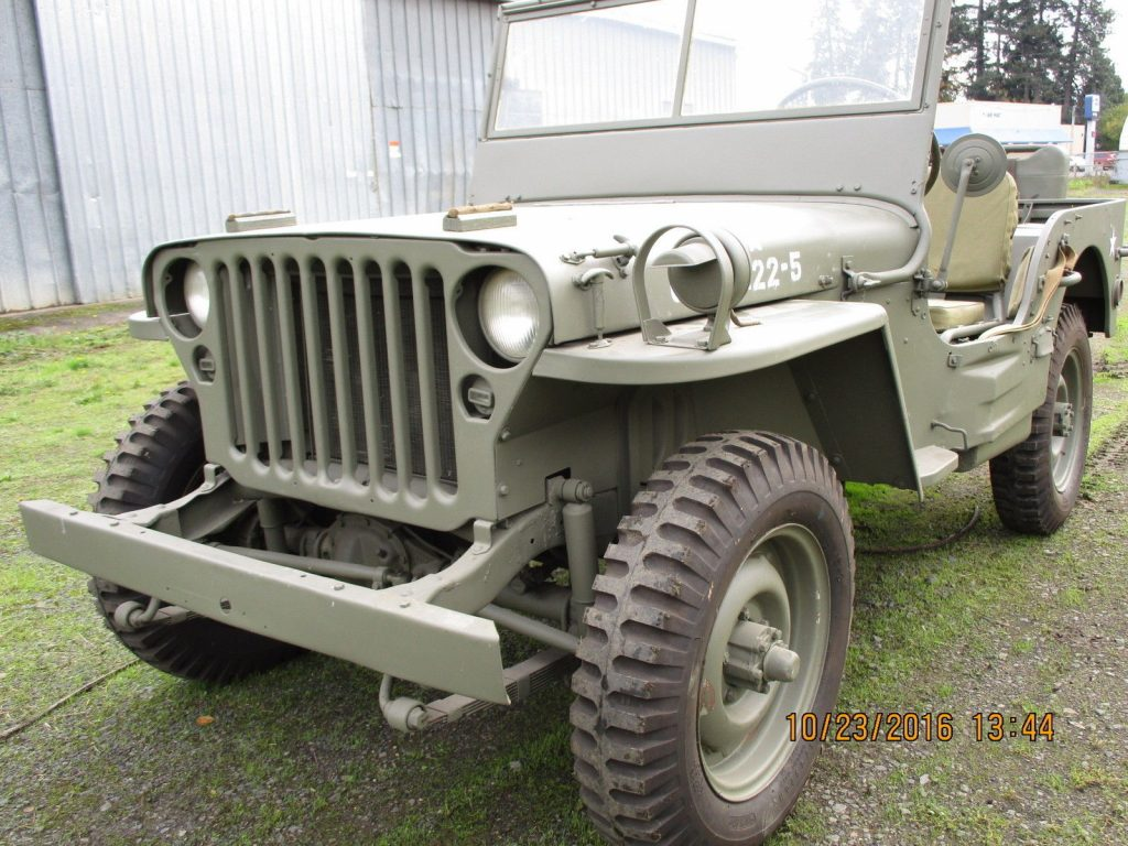 1942 Jeep MB3 military for sale