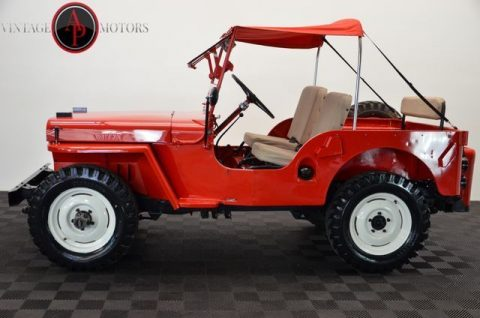 1947 Jeep Willys CJ2A 4X4 RARE Overdrive! RESTORED!! for sale