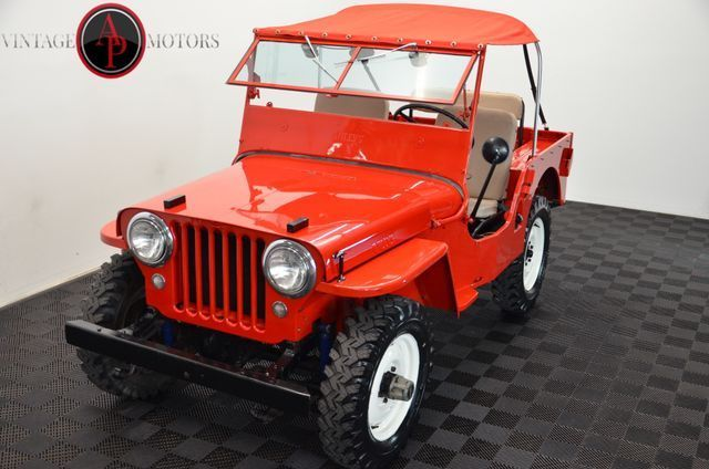 1947 Jeep Willys CJ2A 4X4 RARE Overdrive! RESTORED!!