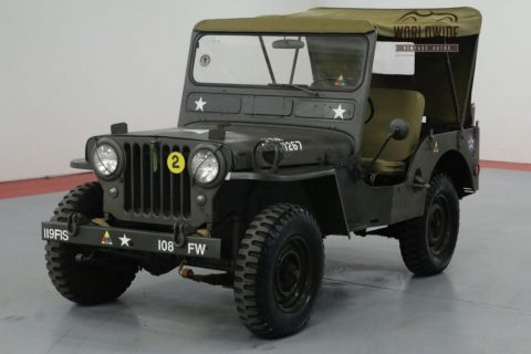 1952 Jeep Willys Cj3a. M38 MILITARY. for sale
